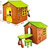 Детский игровой домик со столом и стулом Mochtoys 04, фото 5