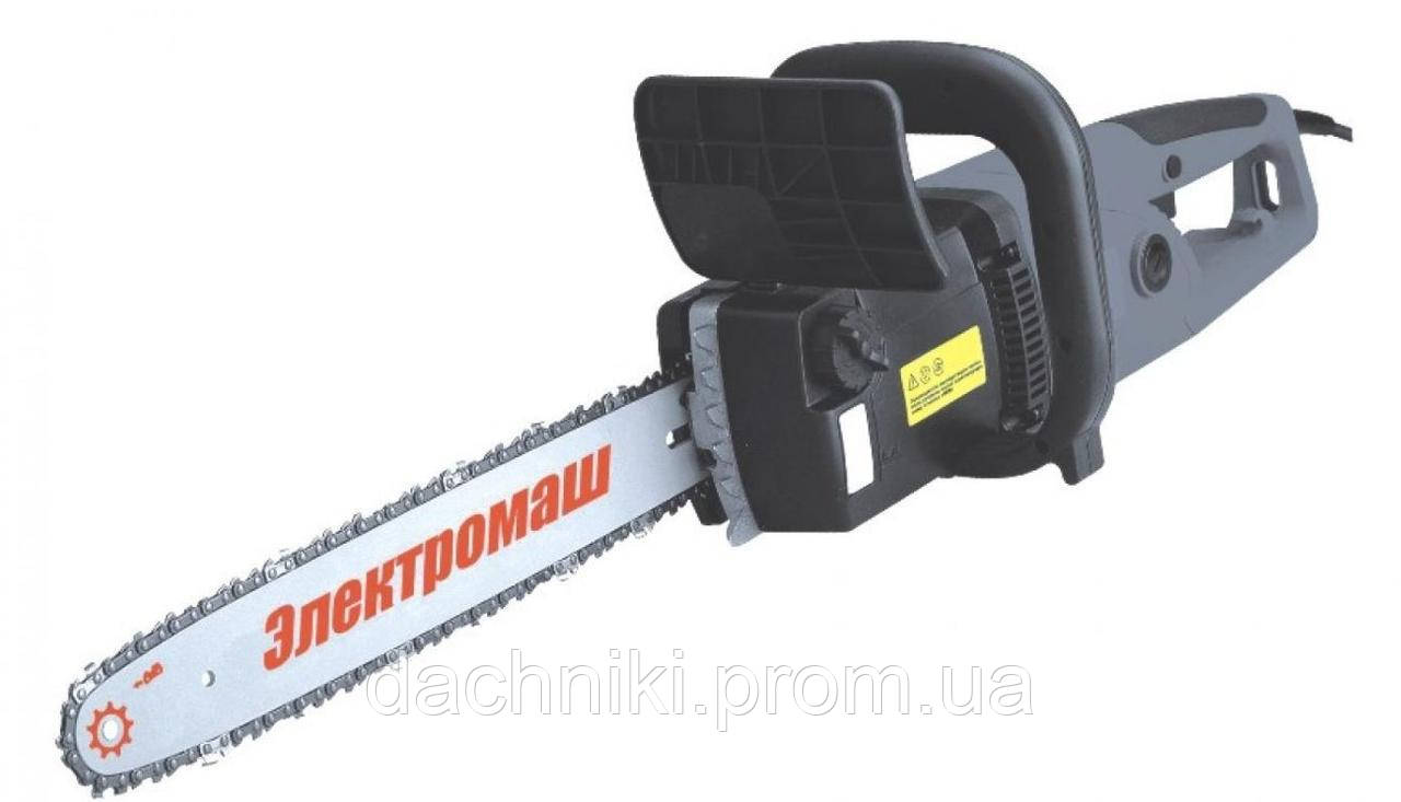 Пила цепная электрическая Электромаш ПЦ 2300 прямая