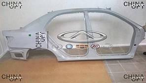 Боковина правая / панель боковая кузова, седан, BYD F3 [ до 2012г.,1.5], 10146555-00, Original parts