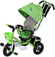 Велосипед с ручкой трехколесный Mars Mini Trike LT960 (зеленый)