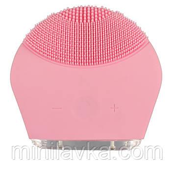Щетка для чистки лица GOTIE FINENESS FE-SR MINI розовый электромассажер