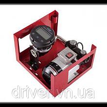 Міні АЗС для дизеля 220V 80л\хв. 550 Вт Цифровий лічильник, автоматичний пістолет