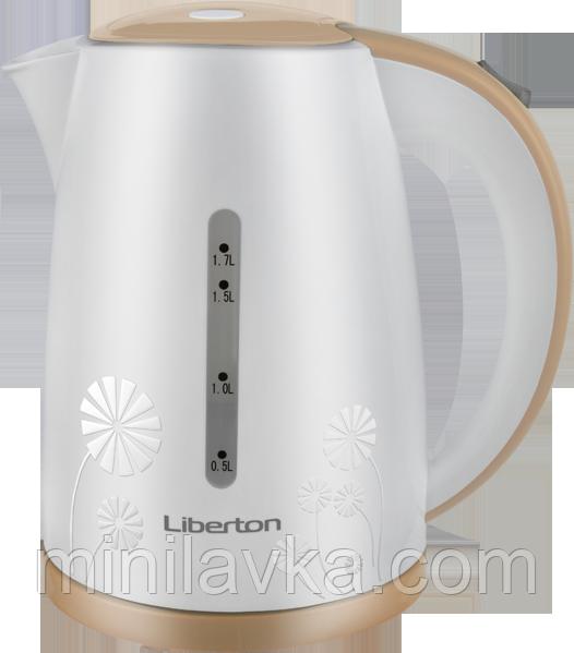 Електрочайник Liberton LEK-1759 1.7 л. 2200 Вт.