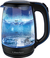 Электрочайник Liberton LEK-1758 Black  1.7 2200 Вт.