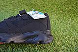 Детские кроссовки сетка  Adidas Yeezy 700 Black адидас черный, копия, фото 4