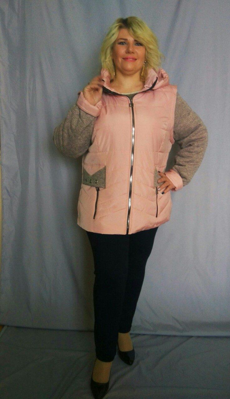 Весняна куртка-жилетка.