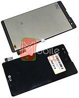 Модульный дисплей для LG K200 X Style Dual Sim | Экран + тачскрин черный оригинал PRC