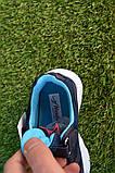 Дитячі кросівки сітка Adidas Yeezy Boost Blue Адідас ізі буст темно сині , копія, фото 7