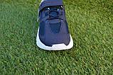 Дитячі кросівки сітка Adidas Yeezy Boost Blue Адідас ізі буст темно сині , копія, фото 9