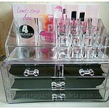 Акриловий Органайзер для косметики Cosmetic Box 4 Drawer