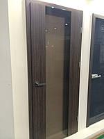 Двери Verto Лайн 1 цвет зебрано «Verto-CELL»