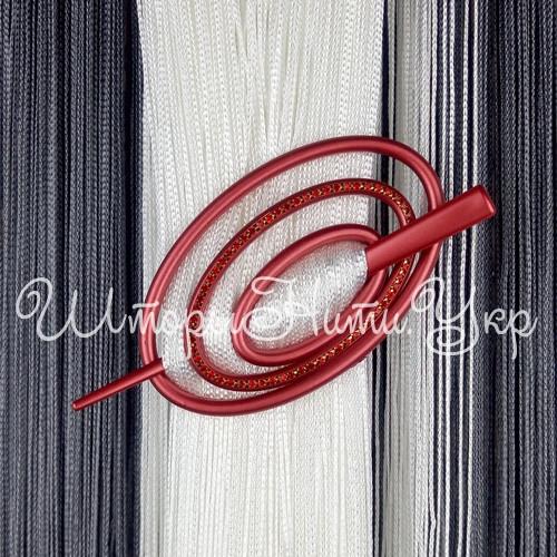 Заколка для штор нитей Овал Элит №11 Красный