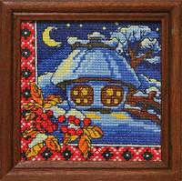 Леді Набор для вышивки крестом Зимова ніч 01272