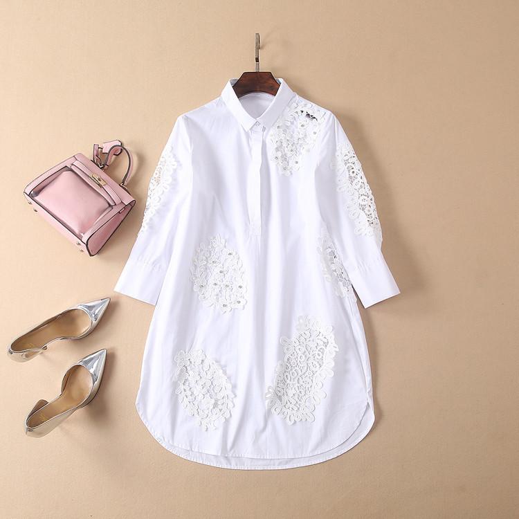 Красивое платье-рубашка миди (в расцветках)