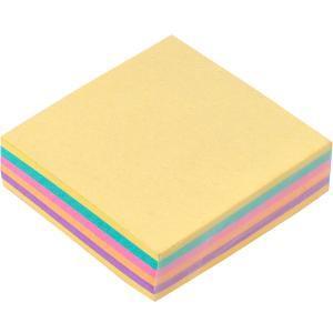 Блок 200 листов 80×80 мм цветной «Коленкор»