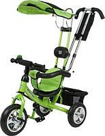 Велосипед с ручкой трехколесный Mars Mini Trike LT950 (зеленый)