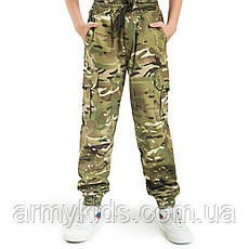 Детский камуфляж комплект футболка брюки СкаутMTP, фото 3