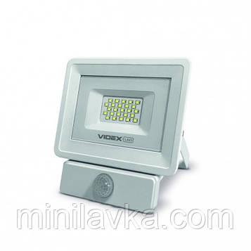 LED прожектор VIDEX 20W 5000K 220V (VL-Fe-205W-S) Сенсорный