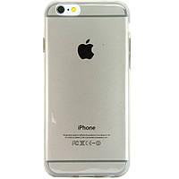 Чехол-накладка для Apple iPhone 6, ультратонкий силиконовый, прозрачный /case/кейс /айфон, фото 1