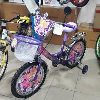 Велосипед двухколёсный Mustang принцесса 12