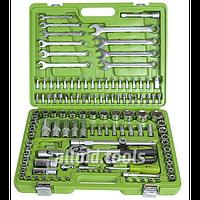 """Универсальный набор инструмента Alloid, 1/4"""" и 1/2"""", 130 предметов (НГ-4130П-6)"""