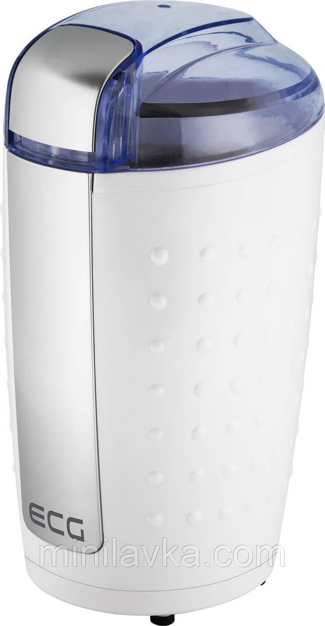 Электрическая кофемолка ECG KM 110 80 г 200 Вт белый