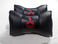 Подголовник (подушка) MITSUBISHI BLACK, фото 1