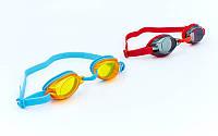 Очки для плавания детские Speedo Jet Junior 809298: поликарбонат, TPR, силикон (от 6 до 14 лет)