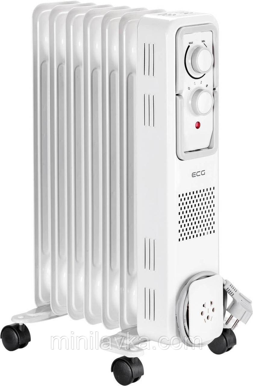 Масляный радиатор ECG OR 1570 7 ребер 1500 Вт