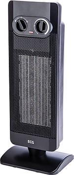 Керамический нагреватель ECG KT 12 2 режима 2000 Вт