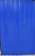 Профнастил синий 8-ми волновой 1,5м Х 0,95м