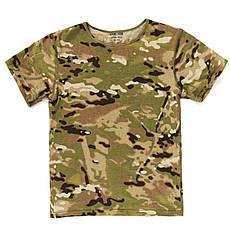 Дитячий камуфляж комплект футболка штани Скаут MTP, фото 3