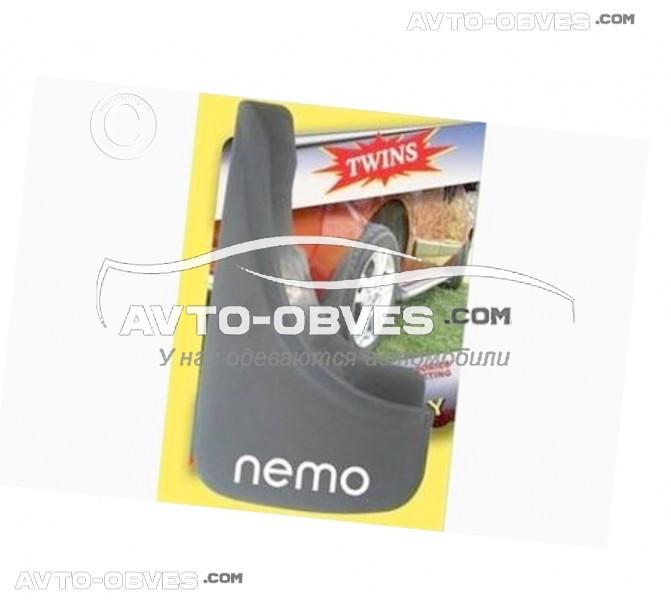 Брызговики для Citroen Nemo передние (2 шт. без креплений)