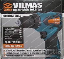 Шуруповерт аккумуляторный Vilmas 1500-CD-12/1Li