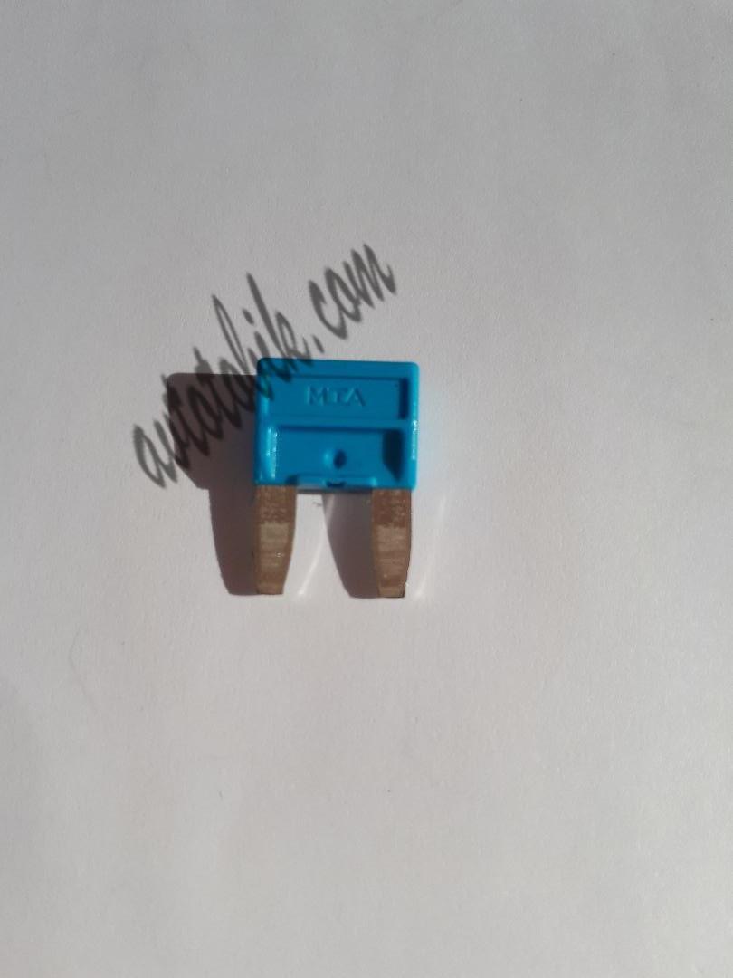 Предохранитель автомобильный MINI 15А синий МТА (1 шт.)