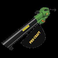 Садовый пылесос ProCraft PGU-3100. Пылесос-воздуходувка