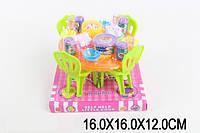 """Меблі для ляльок (кукол) типу """"Барбі"""" A8-952 (1624556) (90шт/2) з посудом, продуктами, на планш. 16*16*12 см"""