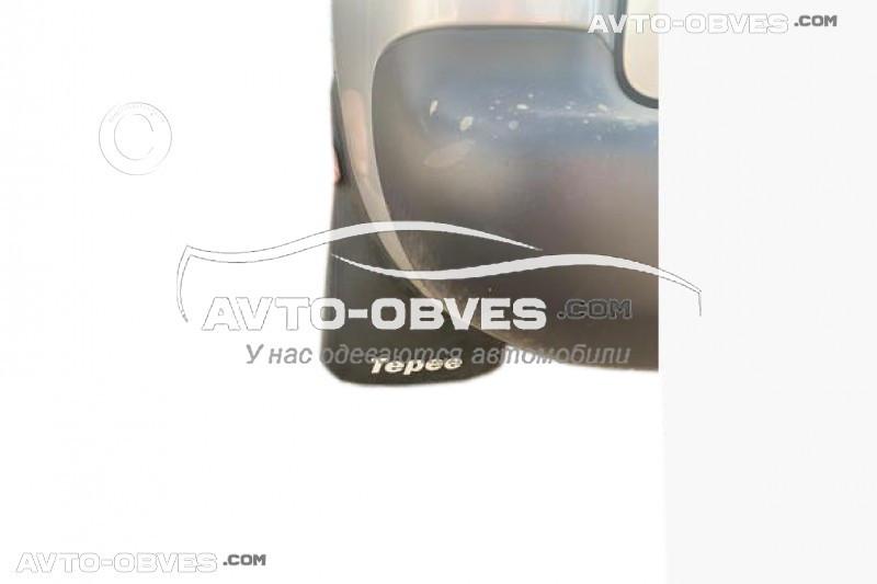 Брызговики для Пежо Партнер Типи задние (2 шт. без креплений)