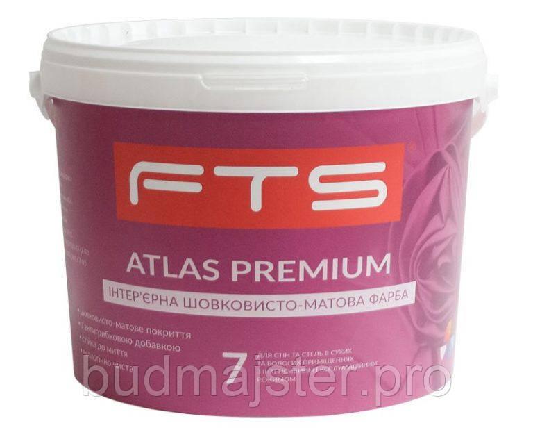 Фарба FTS шовкосвито-матова Atlas Premium 7 В, 10 л