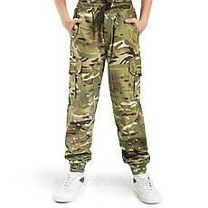 Детский камуфляж комплект футболка брюки кепка СкаутMTP, фото 3