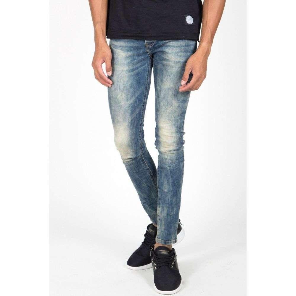 Вареные джинсы мужские Sixth June (Франция), Синий