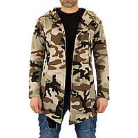 Мужская спортивная куртка от Uniplay, размер L - камуфляж - KL-H-UP-T1671-камуфляж L