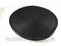 Тесьма  сумочная цвет черный 20 мм , фото 3