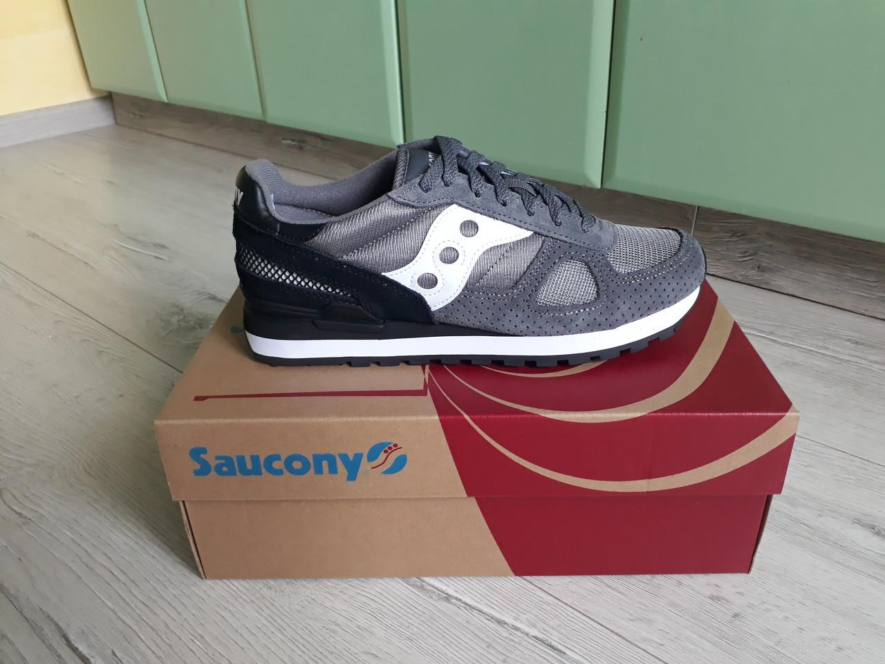 hot sale online 44d74 74520 Мужские оригинальные кроссовки Saucony Shadow Original Grey/Black