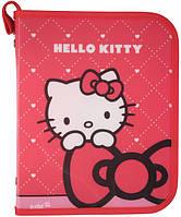 Kite 2015 Папка для зошитів на блискавці В5 Hello Kitty