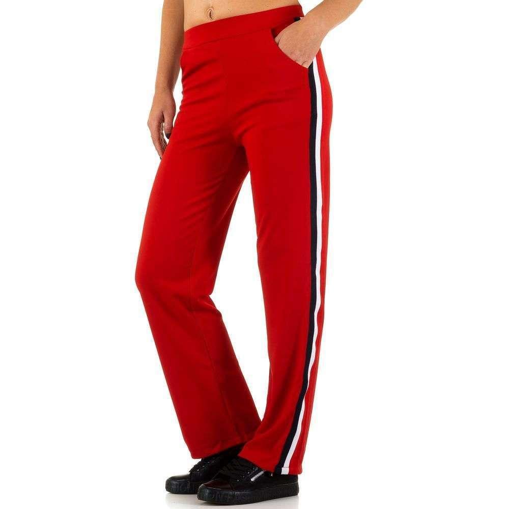 Женские брюки от Shk Paris - красный - KL-H33-red