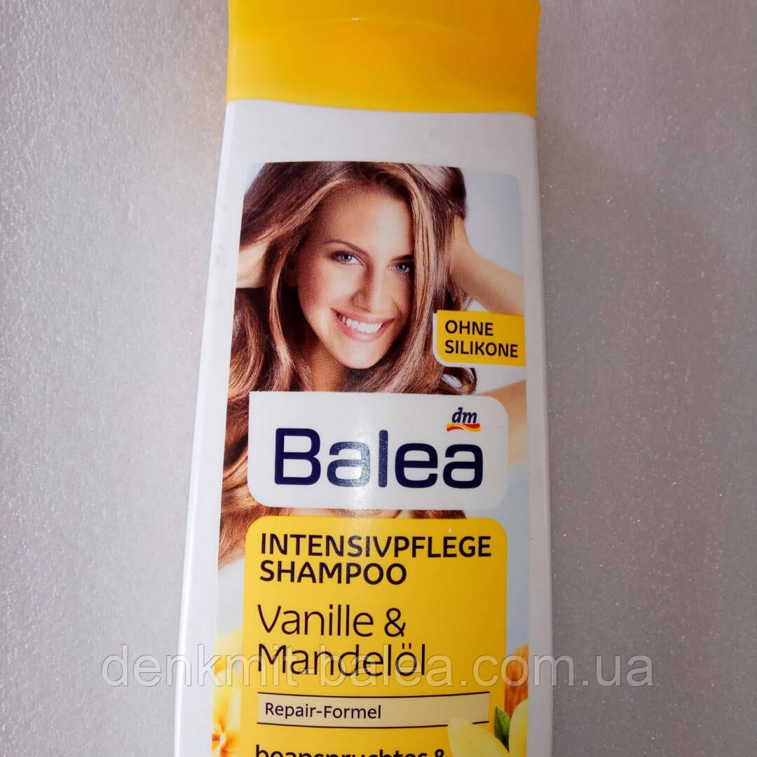 Шампунь  Увлажнение и питание с экстрактом миндаля для сухих волос Balea Shampoo Vanilla & Mandelol 300 мл