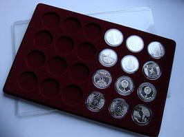 Планшет для монет 5 гривен, нейзильбер