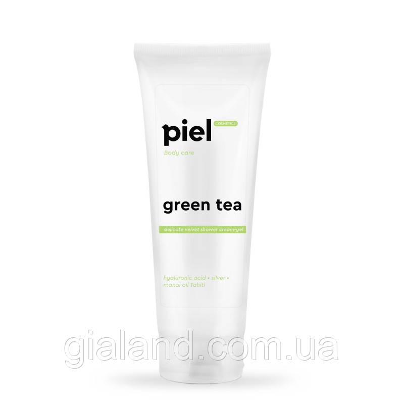 PIEL Пьель Гель для душа с гиалуроновой кислотой Green Tea 250мл