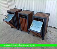 Вулична урна TrendDecor металева 0121, фото 1